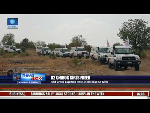 82 Chibok Girls Freed: Red Cross Explains Role In Release Of Girls
