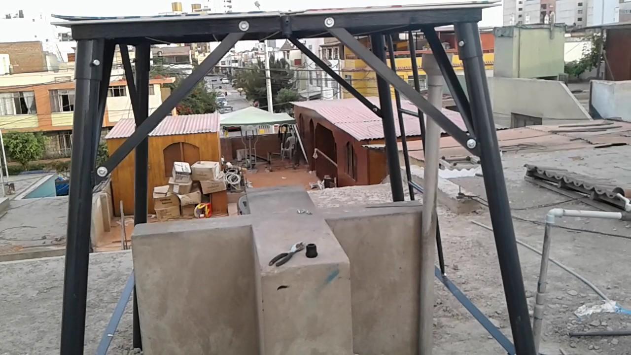 Como instalar un tanque elevado youtube for Como fabricar tanques de agua para rusticos
