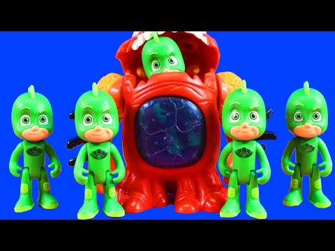 PJ Masks Replicate Gekko To Rescue Imaginext Power Rangers Learn Colors Learn Counting
