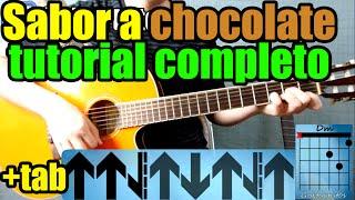 """Como tocar """"SABOR A CHOCOLATE"""" de ELEFANTE en guitarra acústica"""