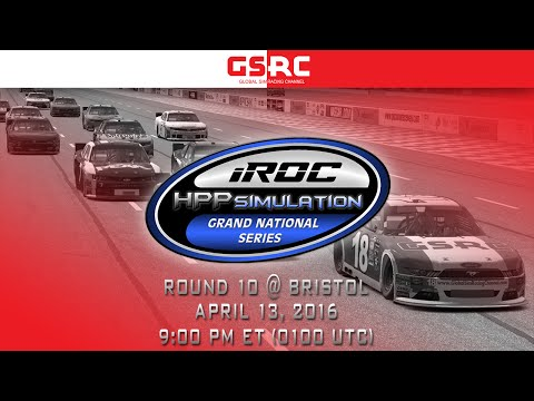 iROC HPP Simulation Grand National Series - 2016 Round 10 - Bristol