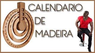 D.I.Y. CALENDÁRIO DE MADEIRA - por Edgar Moraes