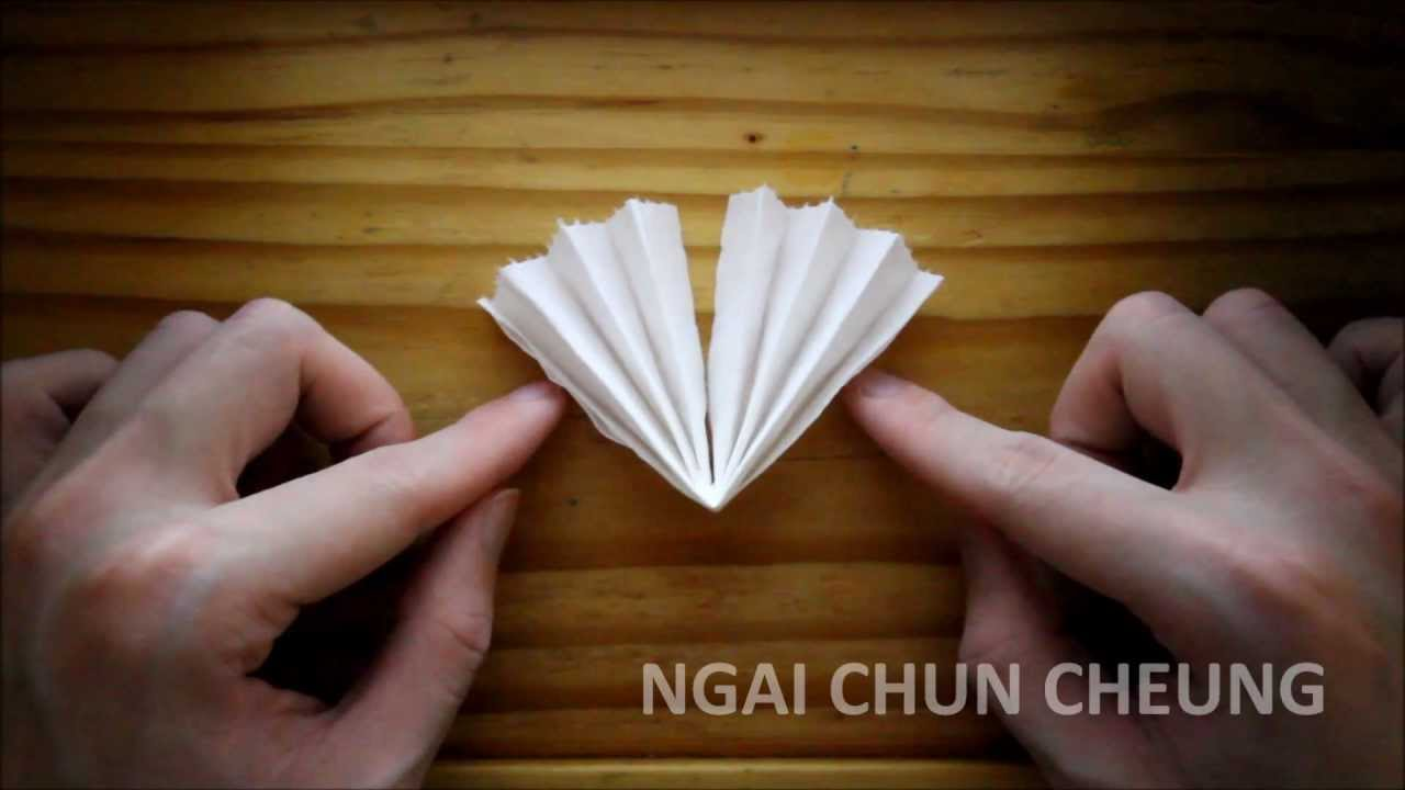 Origami Toilet Paper Flower Pot Youtube