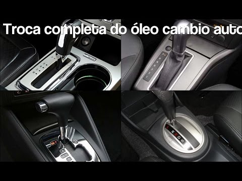 Como trocar ''7 litros'' Óleo Cambio Automatico GM Vectra,CRUZE,Astra,Zafira,GTX,Onix, AF20 50 40 LN