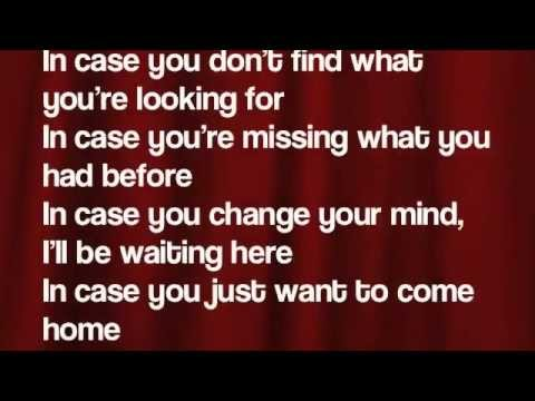 In Case- Demi Lovato (Lyrics)