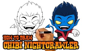 How to Draw Nightcrawler | X-Men