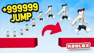 +999999 JUMP *HIGHEST* JUMPER IN ROBLOX PARKOUR SIMULATOR