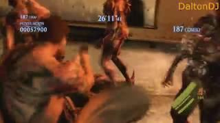 Resident Evil 6 Pc - Mercenaries - No Mercy - Solo - U.C - Chris 2 Costume 2.714K