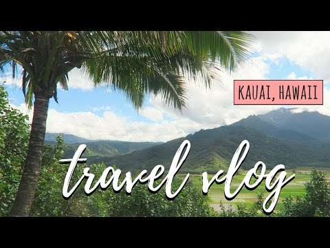 TRAVEL VLOG // EXPLORING KAUAI 🌴☀️