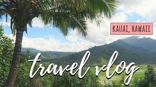 TRAVEL VLOG // EXPLORING KAUAI 🌴☀️