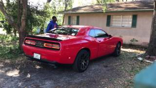 2015 Dodge Challenger RT Straight Pipes Exhaust Cold Start