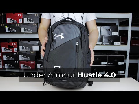 loto Saco Locomotora  Under Armour Hustle 4.0 Backpack Review - YouTube