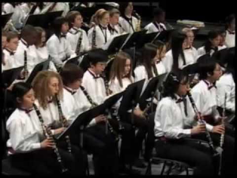 Clarksville Middle School Wind Ensemble: CONQUEST