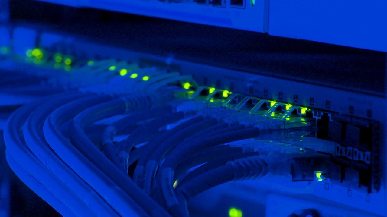 Internet Network Server 4K - Free Hd Stock Footage 4K - No -9690