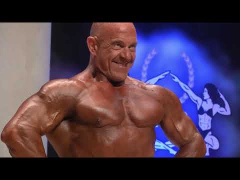 Men Bodybuilding Over 55 Years Up 90 Kg IFBB World Master 2019
