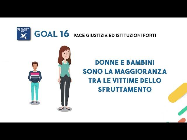 SDG's Goal 16: Pace, giustizia e istituzioni forti