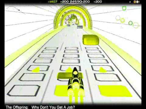 Audiosurf - Why don't you get a job (Pro Mono)