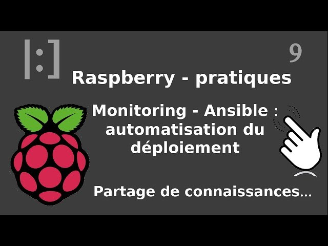 Raspberry Pi - 9. Monitoring / Ansible : déployer automatiquement xinetd et scripts