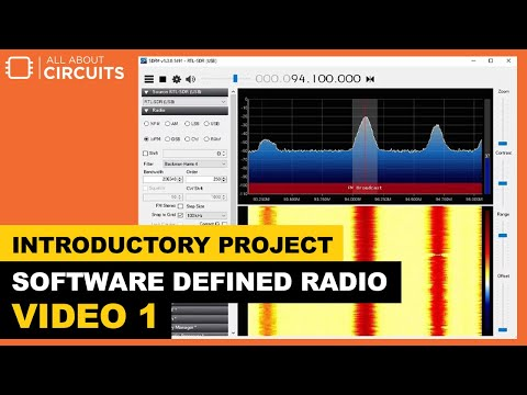 An Introductory Project for Software Defined Radio