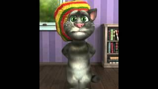 Веселый , смешной и интересный говорящий кот Том рассказывает стихи на iphone  Мультфильм 27