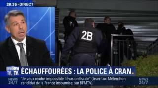 Violences urbaines en Ile de France