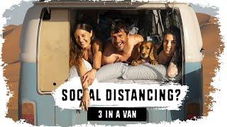 3 People Living iฑ 1 TINY VAN 🤔 (Van Life Africa) // S04E06