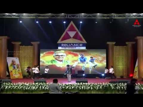 Piyo Piyo Re Song Dance Performance at Manam 50 Days Success Meet