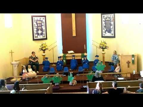 Faith Lutheran Preschool Graduation 2020