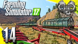 Farming Simulator 2017 Gameplay :EP14: Greenhouse Conveyor System! (PC HD American Outback)
