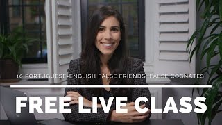 Baixar [LIVE  CLASS REPLAY] 10 Portuguese-English False Friends (False Cognates)   Speaking Brazilian