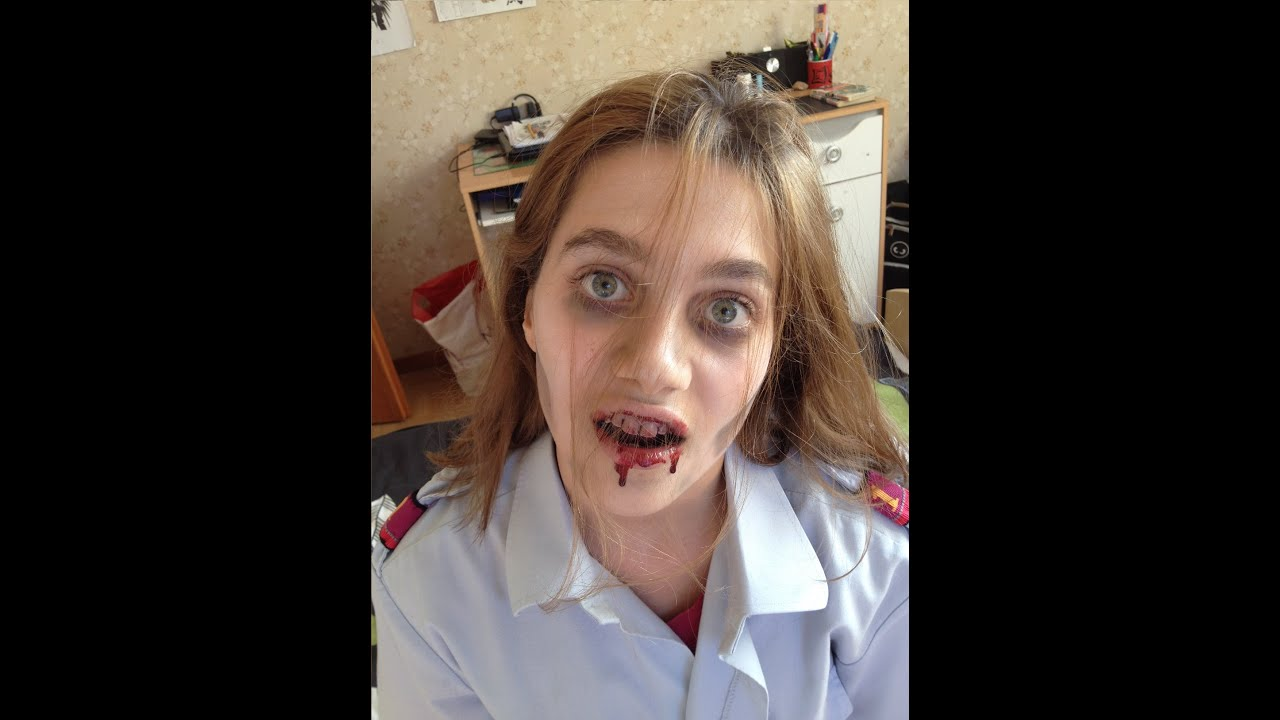 maquillage zombie simple tuto