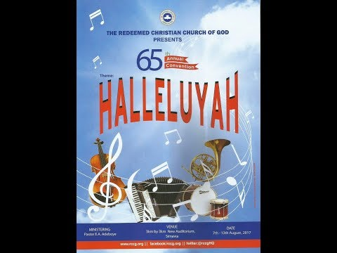 RCCG 2017 CONVENTION DAY 5 (Plenary Session 6)