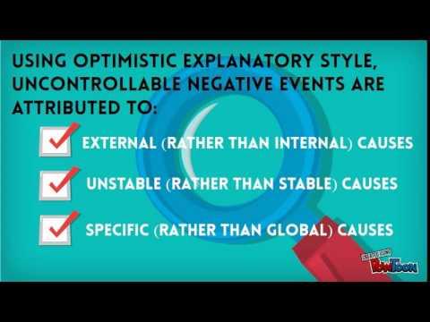 Optimistic Explanatory Style
