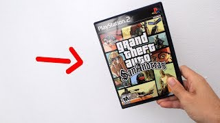 VOCÊ JÁ VIU UM GTA SAN ANDREAS ORIGINAL DE PS2??