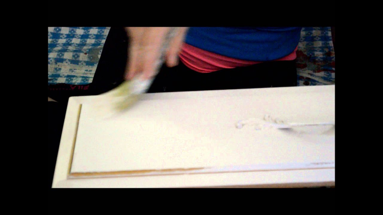 painting over laminate with annie sloan chalk paint youtube rh youtube com