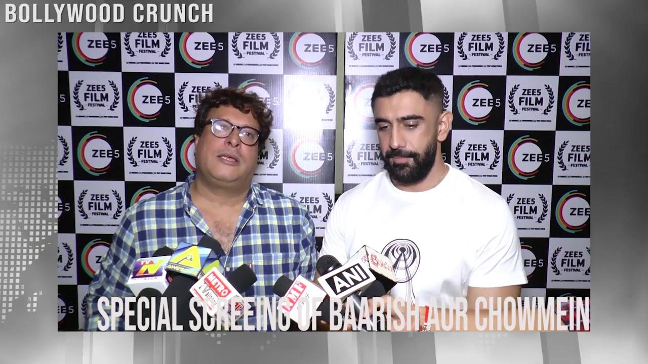 Download Special Screening of Barish Aur Chowmein I Amit Sadh and Tigmanshu  Dhulia
