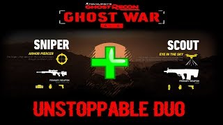 SNIPER + SCOUT = AN UNSTOPPABLE DUO!   Ghost War PVP