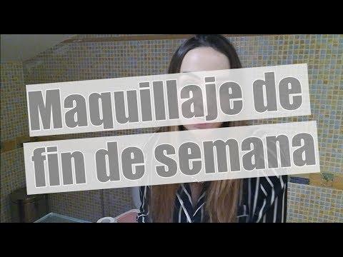 COMO ME MAQUILLO PARA UN FIN DE SEMANA! - CELIA MANZANO