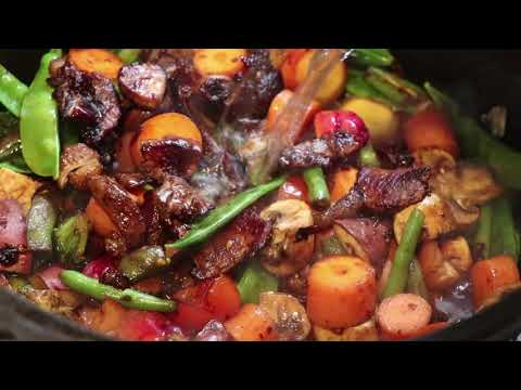 Delicious Healthy Wild Pork Stew