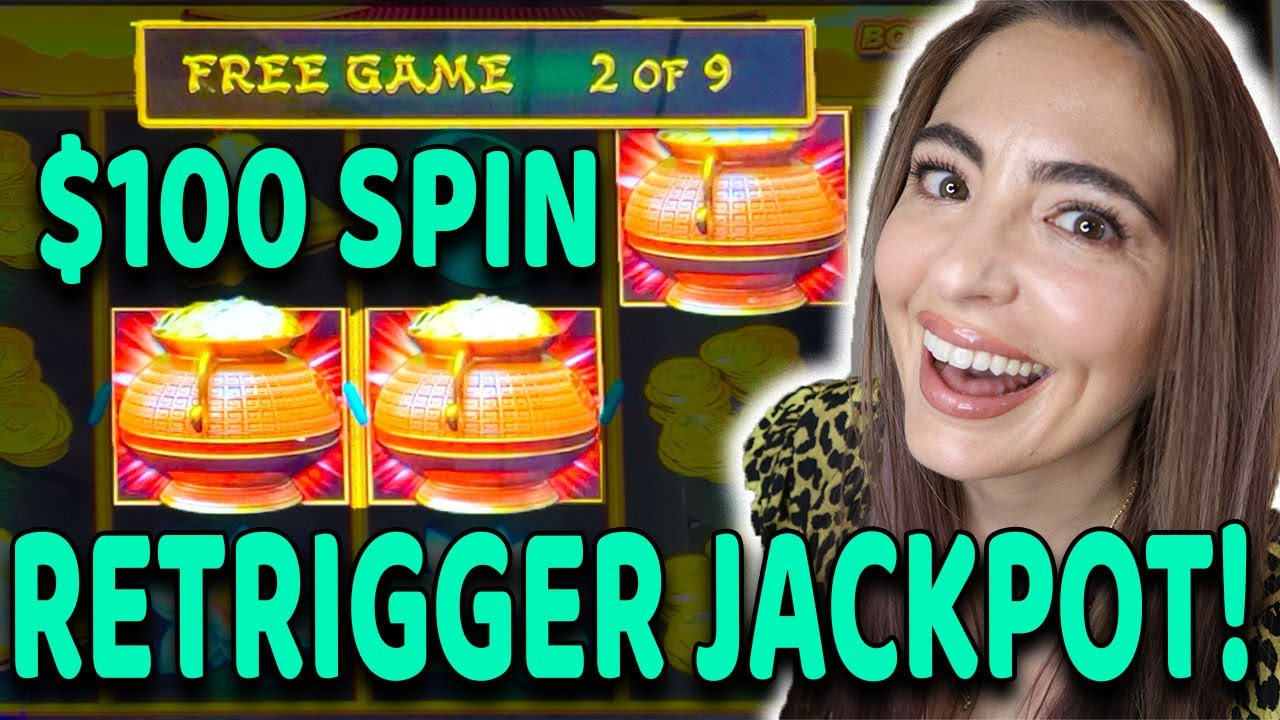 $100 SPIN LANDS A BONUS GAME, RETRIGGER + A JACKPOT HANDPAY all in the HIGH LIMIT ROOM in VEGAS!