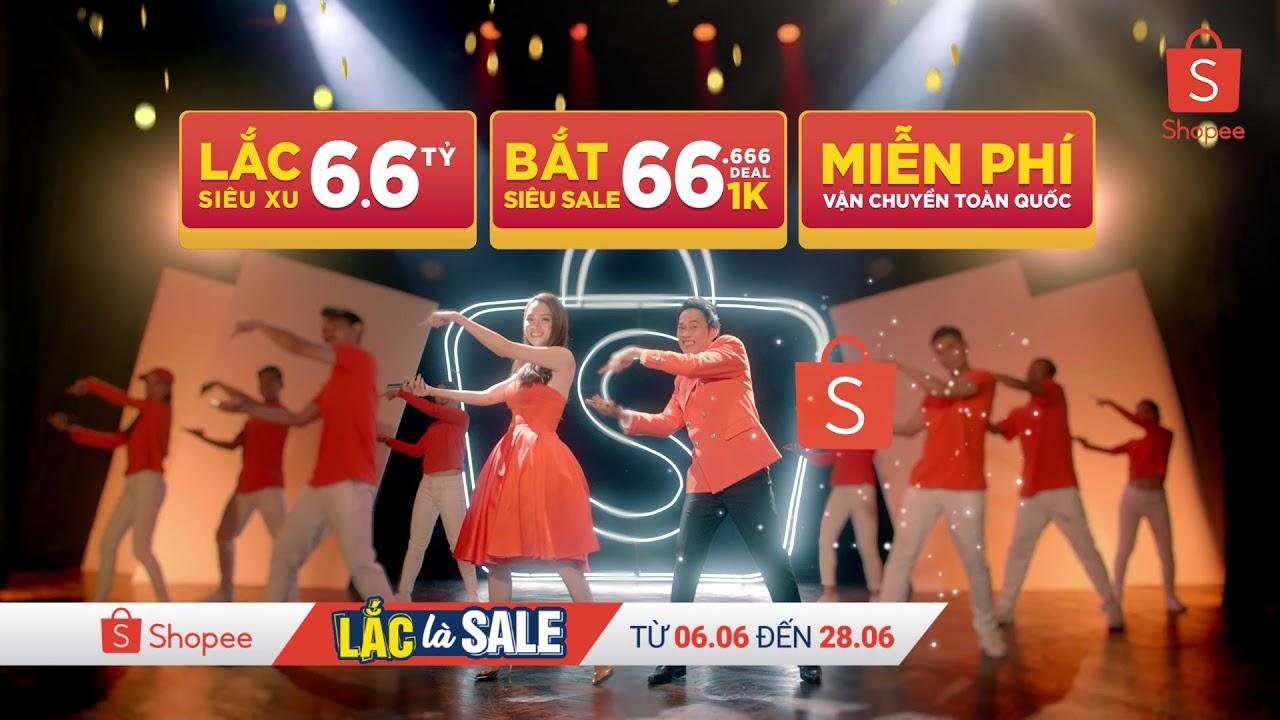 Shopee Lắc Là Sale - từ 06.06 đến 28.06