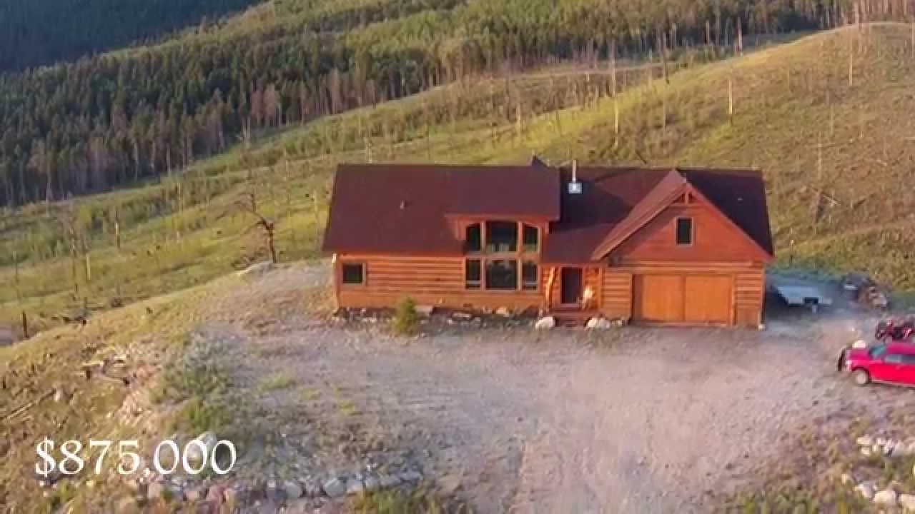 Beautiful Log Home South Fork Co 334 Bobcat Court Youtube