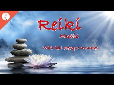 Reiki-Musik, Klangheilung, positive Schwingungen, mit Bell alle 3 Minuten