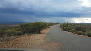 Storm clouds from Red Hill Kambalda January 2018