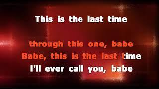 Sugarland and Taylor Swift Babe Karaoke version
