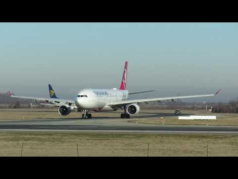 Turkish Airlines Airbus A330-300 TC-JOG Bucharest Airports
