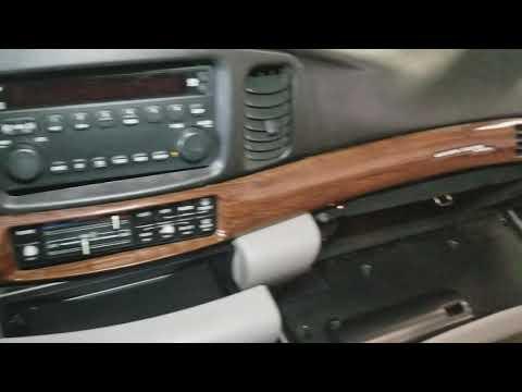 2005 Buick Le Sabre Radio Removal