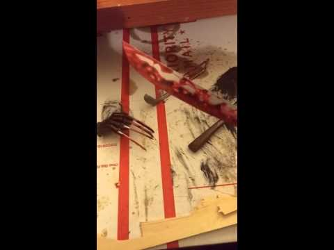 DIY Blood effects for figures and more! AWESOME!