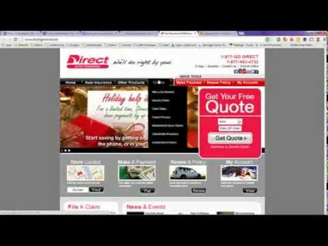 Direct Car Insurance Quotes