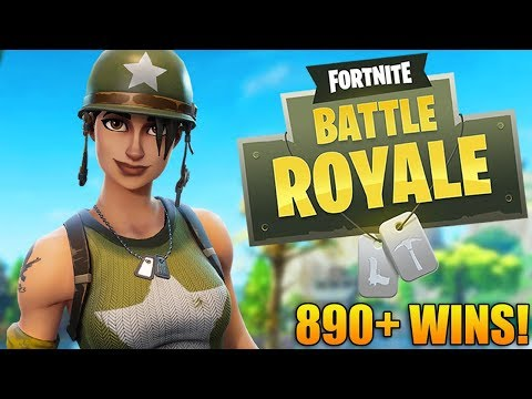 GETTING EPIC WINS! - 895+ Wins - Level 100 - Fortnite Battle Royale Gameplay - (PS4 PRO)